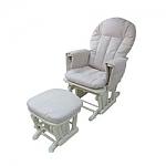 כורסת הנקה מצבים + הדום - Berlin Glider Chair