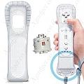 תוסף Wii Motion Plus - אביזר חובה לכל שלט wii. מוסיף דיוק לכל שלט!