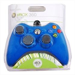 שלט חוטי ל- Xbox 360 כחול