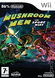 Mushroom Men - The Spore Wars  - Wii