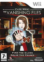 Cate West: The Vanishing Files  - Wii
