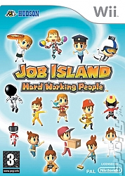 Job Island: Hard Working People - Wii