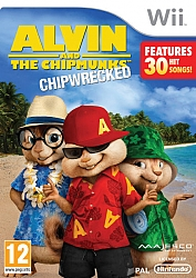 Alvin and the Chipmunks Chipwrecked - Wii