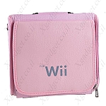 תיק נסיעות לווי (Wii) ורוד