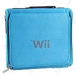 תיק נסיעות לווי (Wii) תכלת