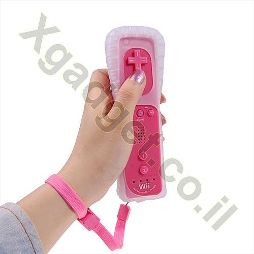 שלט Wii כולל Wii MOTION - ורוד - 6
