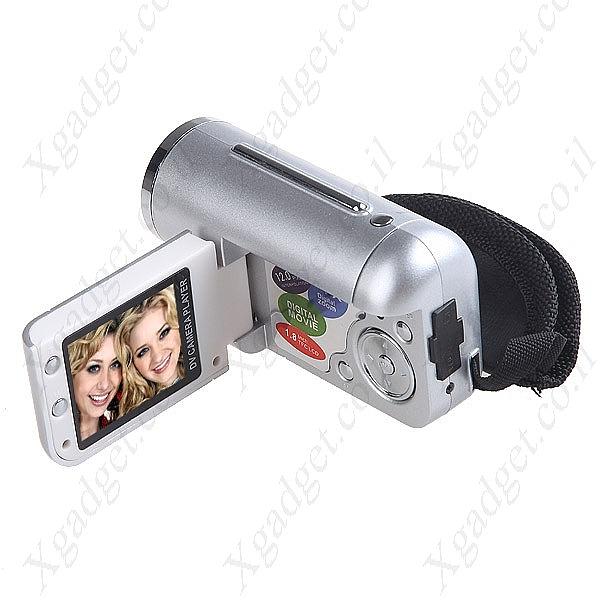מיני מצלמת וידאו עם מסך LCD - 1