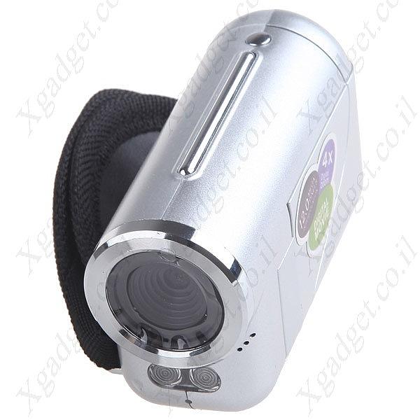 מיני מצלמת וידאו עם מסך LCD - 2