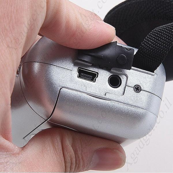 מיני מצלמת וידאו עם מסך LCD - 5