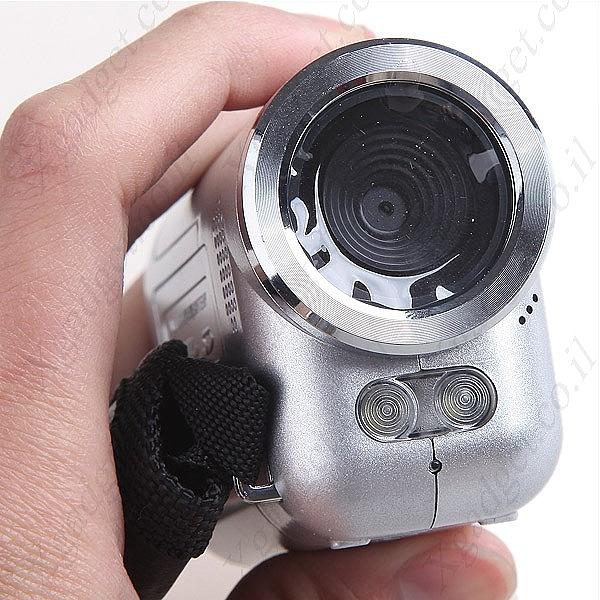 מיני מצלמת וידאו עם מסך LCD - 6