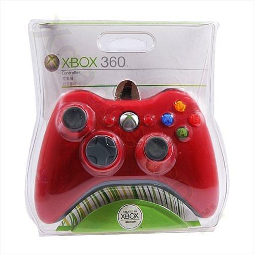 שלט חוטי ל- Xbox 360 אדום - 1