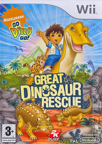 Go Diego Go! Great Dinosaur Rescue - Wii - 1