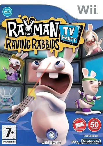 Rayman Raving Rabbids TV Party - Wii - 1
