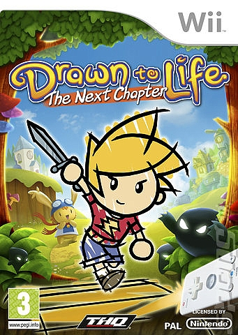 Drawn to Life - The Next Chapter - Wii - 1