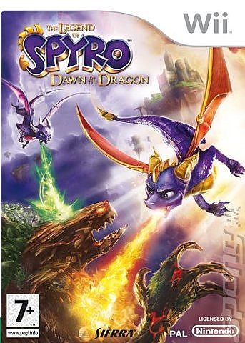 The Legend Of Spyro - Dawn Of The Dragon - Wii - 1