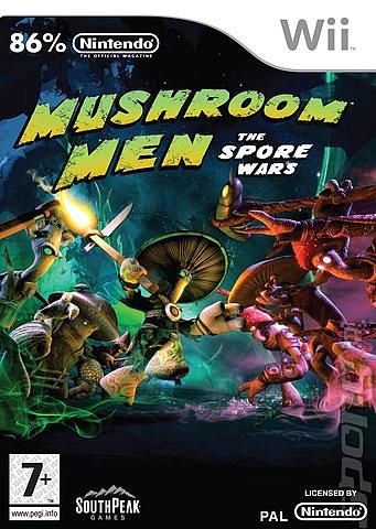 Mushroom Men - The Spore Wars  - Wii - 1