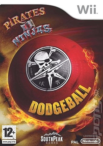 Pirates vs Ninjas - Dodgeball - Wii - 1