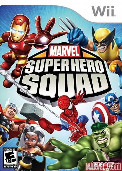 Marvel Super Hero Squad Comic Creator- Wii - 1