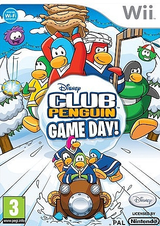 Club Penguin: Game Day  - Wii - 1