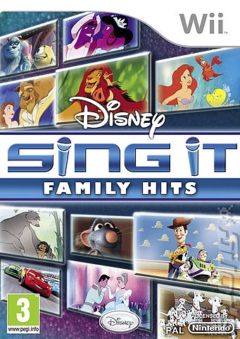 Disney Sing It: Family Hits  - Wii - 1