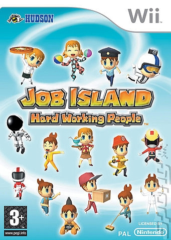 Job Island: Hard Working People - Wii - 1
