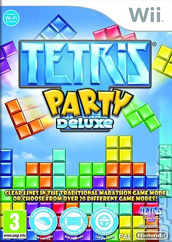 Tetris Party Deluxe - Wii - 1