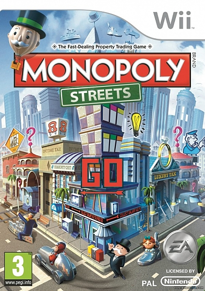 Monopoly Streets - Wii - 1