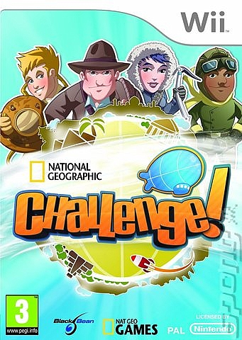 National Geographic Challenge! - Wii - 1