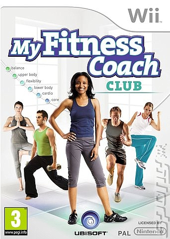 My Fitness Coach: Club  - Wii - 1