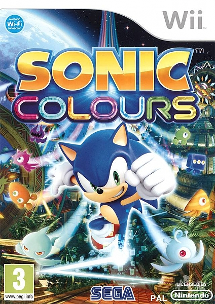 Sonic Colours - Wii - 1