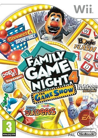 Hasbro Family Game Night 4: The Game Show Edition - Wii - 1
