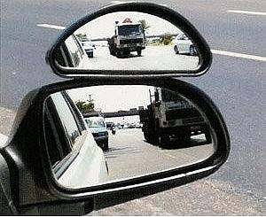 צמד מראות  עזר חיצוני מיני לרכב - 2
