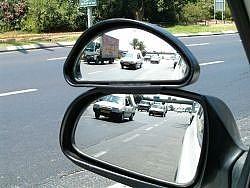 צמד מראות  עזר חיצוני מיני לרכב - 3