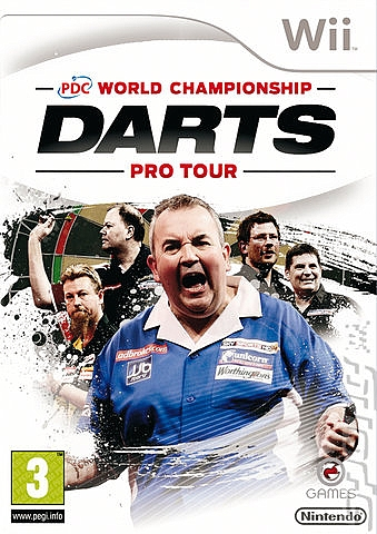 PDC World Championship Darts Pro - Wii - 1