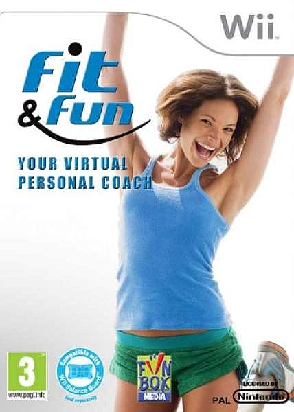 Fit and Fun: Your Virtual Personal Coach - Wii - 1