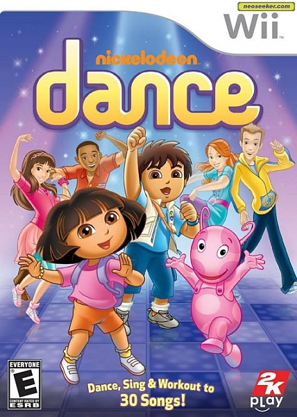 Nickelodeon Dance - Wii - 1