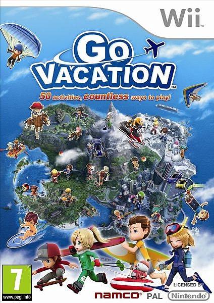Go Vacation Nintendo - Wii - 1