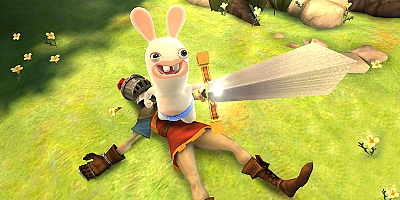 Rayman Raving Rabbids: Travel in Time - Wii - 2
