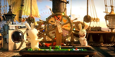 Rayman Raving Rabbids: Travel in Time - Wii - 4