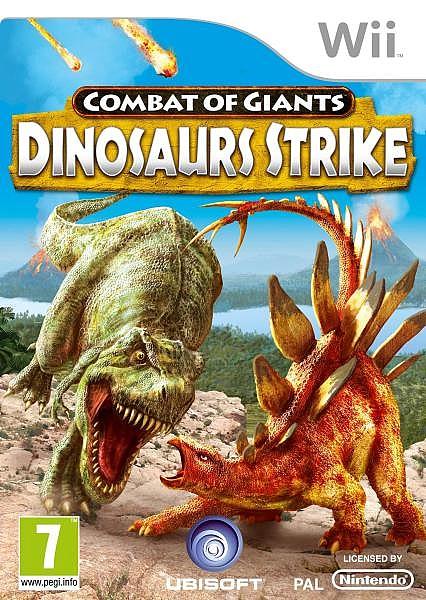 Combat Of Giants Dinosaur Strike  - Wii - 1