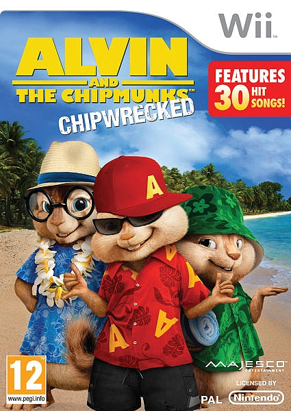 Alvin and the Chipmunks Chipwrecked - Wii - 1