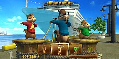 Alvin and the Chipmunks Chipwrecked - Wii - 2