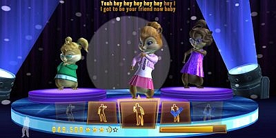 Alvin and the Chipmunks Chipwrecked - Wii - 4