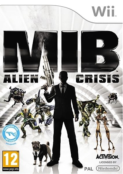 Men In Black Alien Crisis - Wii - 1