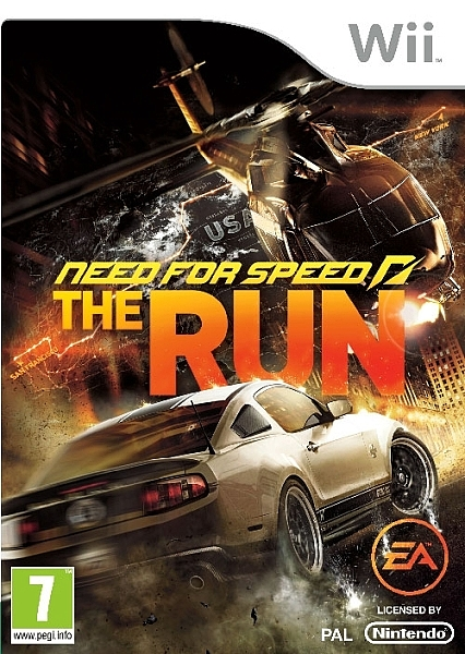 Need For Speed The Run - Wii - 1