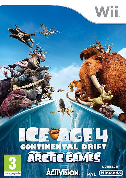 Ice Age 4: Continental Drift - Wii - 1