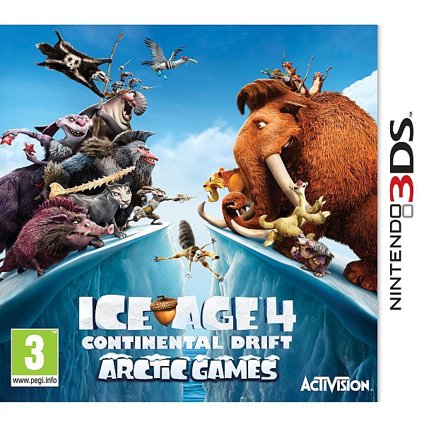 Ice Age 4: Continental Drift - 3DS - 1