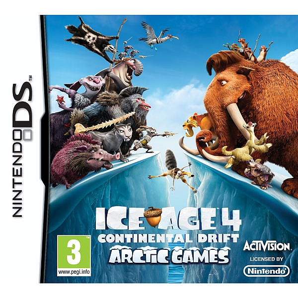 Ice Age 4: Continental Drift - DS - 1