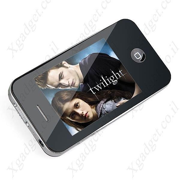 נגן MP4 MP3 עם מסך 2.6TFT ומצלמה - 2