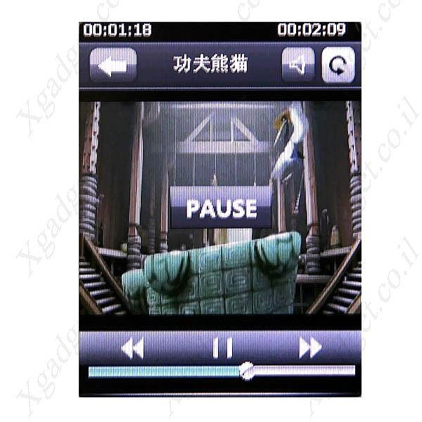 נגן MP4 MP3 עם מסך 2.6TFT ומצלמה - 8